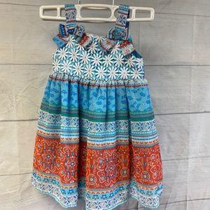 BlueBeri Boulevard Printed Dress